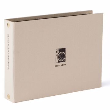 Picture of INSTAX MINI TWO RING ALBUM GOLD