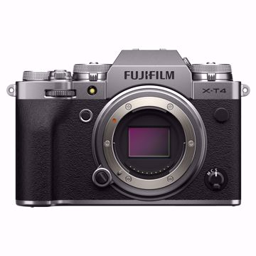 Picture of X-T4 Body Silver