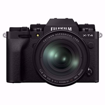 Picture of X-T4 Kit XF16-80mmF4 R Black