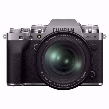 Picture of X-T4 Kit XF16-80mmF4 R Silver